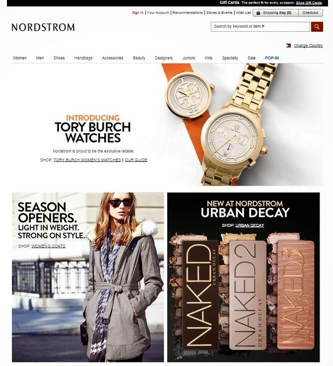 nordstrom rack online shopping