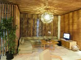 desain rumah/villa bambu eksotik