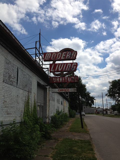 Eerie Indiana Abandoned Modern Living Building Portland