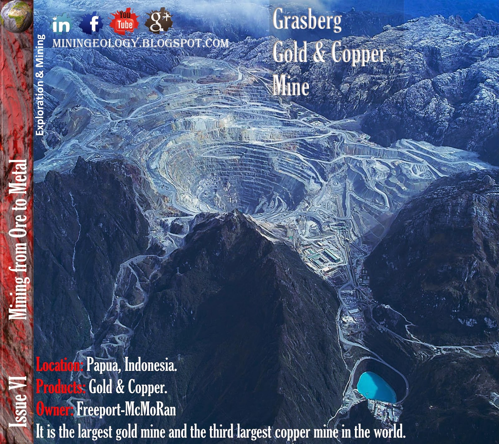 Grasberg Gold & Copper Mine