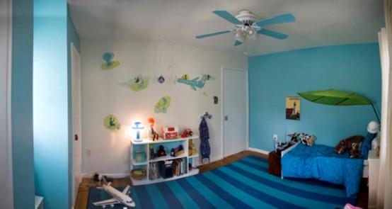 Cuarto de los ni os que no cuesta mucho decoraci n de - Color habitacion nino ...