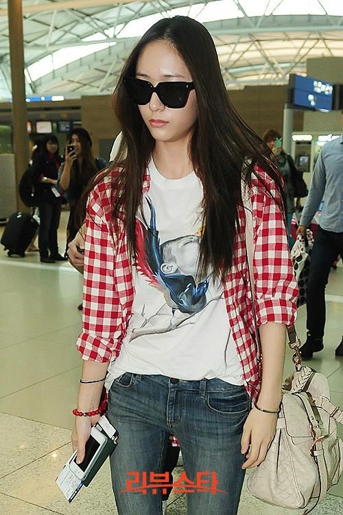 Sally Sayz Style Inspiration Kpop Idols Krystal Jung