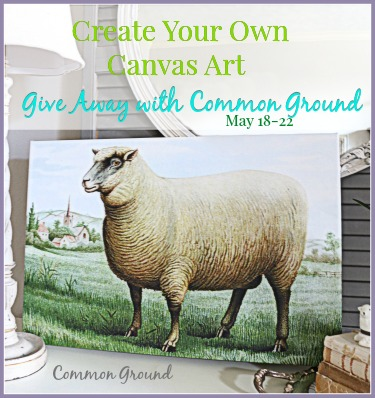 Give Away with CanvasPop