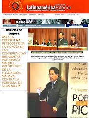 """""""EL SOS DE SOLIDARIDAD CON NICARAGUA QUE LANCE EN EUROPA EN EL 2007, HOY; SIGUE VIGENTE"""" VER AQUI"""
