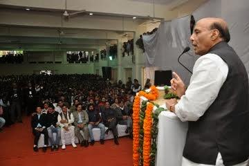 Rajnath Singh, BJP president speaking on 'The Idea of Good Governance'