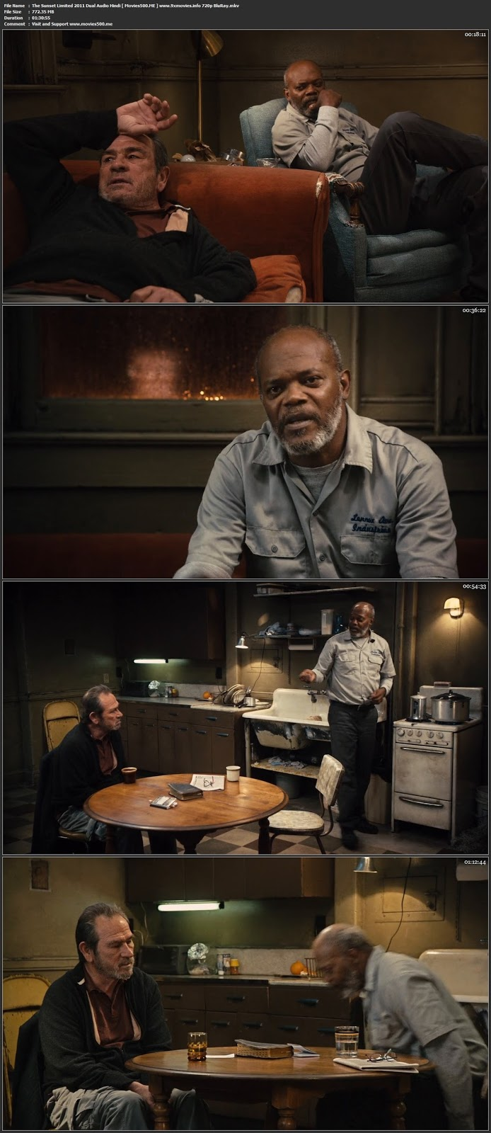 The Sunset Limited 2011 Dual Audio Hindi 720p BluRay at tokenguy.com