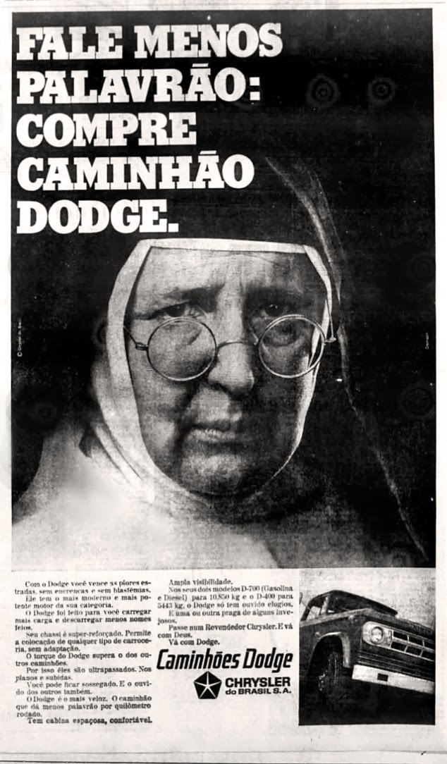 história da década de 70; os anos 70; reclame anos 70; Brazil in the 70s