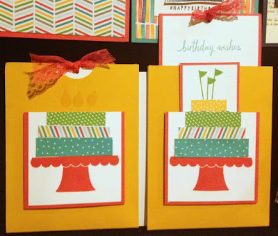 Stampin' Up! Build a Birthday Double Slider Card by Lorri Heiling -- Hawaii Incentive Trip Display Board #stampinup