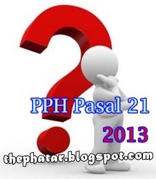 Pajak PPH Pasal 21