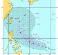 Taifun GUCHOL (BUTCHOY) bedroht eher Japan als China, Guchol, aktuell, Taifunsaison, Taifunsaison 2012, 2012, Juni, Vorhersage Forecast Prognose, Japan, China, Taiwan, Philippinen,