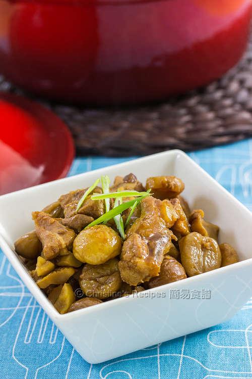 栗子燜排骨 【惹味又和味】 Braised Pork Ribs with Chestnuts
