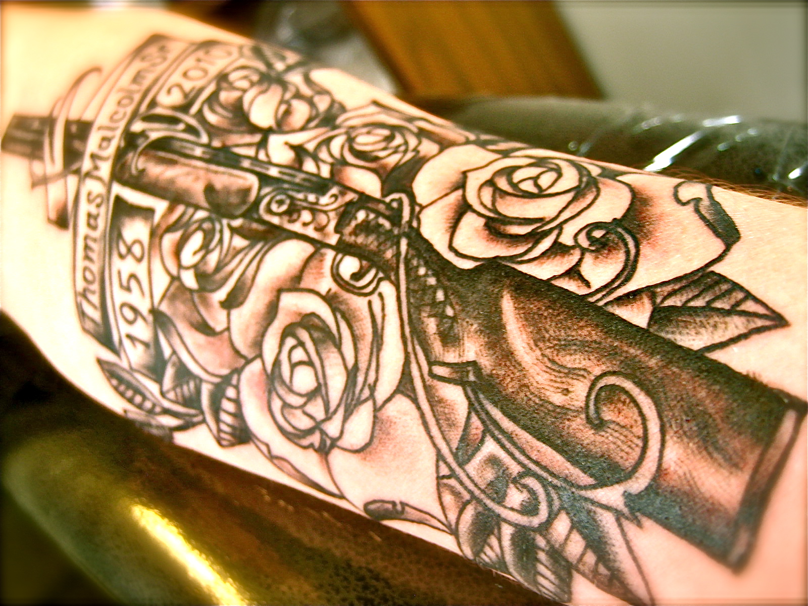 Tommy Gun Tattoo Designs