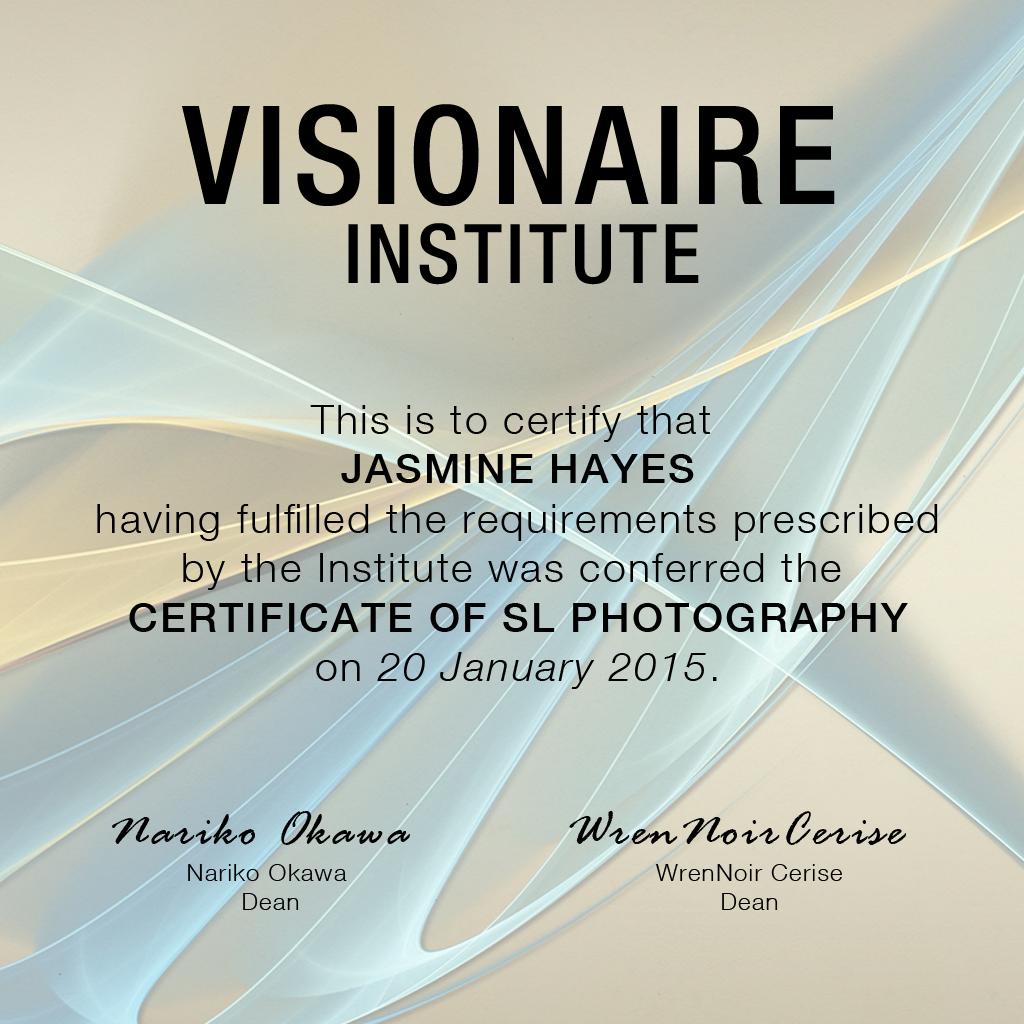 Visionaire Graduate 2015