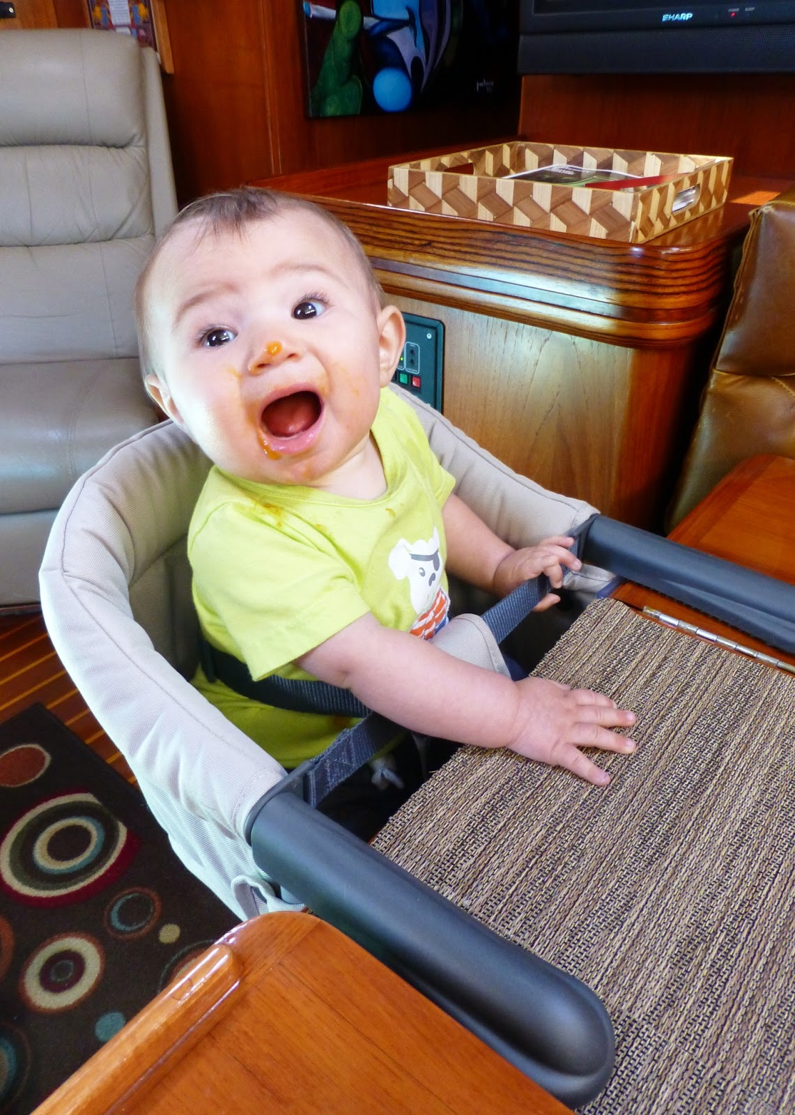 Inglesina fast table chair marina - Inglesina Fast Table Chair