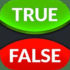 لعبة صحيح أو خطأ - True or False Game