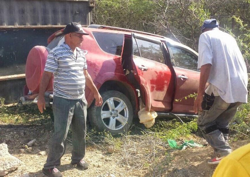 Mueren en accidente 3 personas viajaban en jeepeta de pelotero Starlin Castro