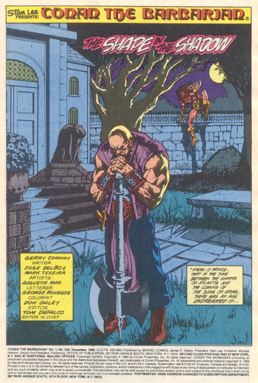 Conan the Barbarian (1970) Issue #226 #238 - English 2