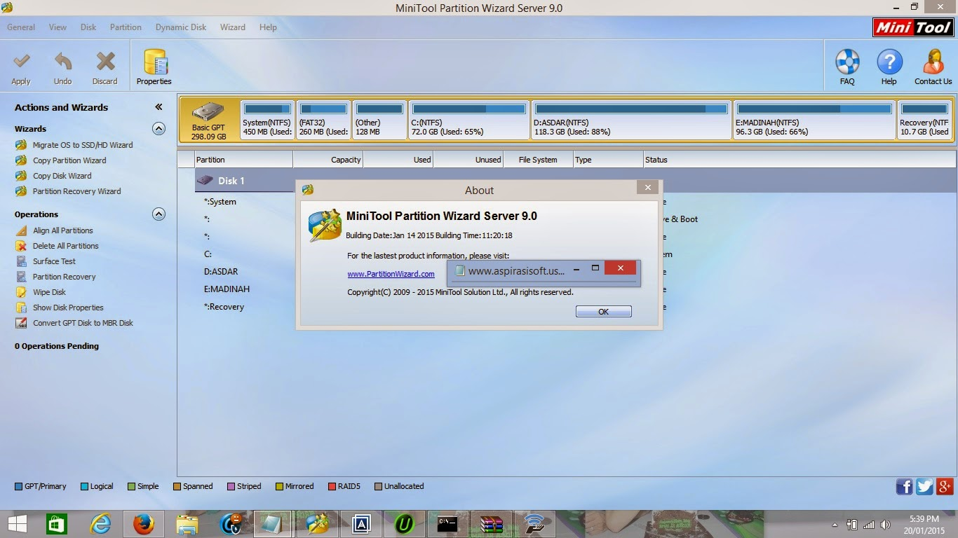 MiniTool Partition Wizard Server Edition 9.0 Full Serial Number - MirrorCreator