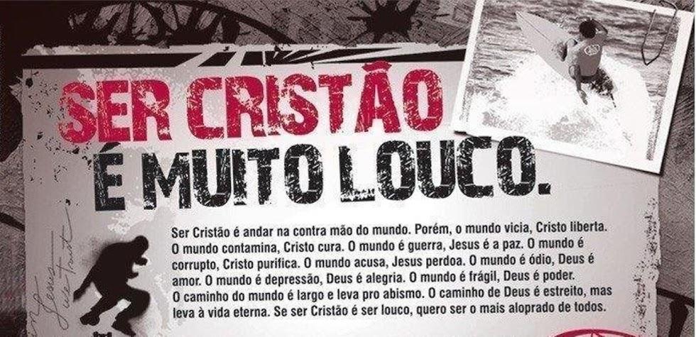 SER CRISTÃO É MUITO LOUCO (((d-_-b))) www.sercristao.tk