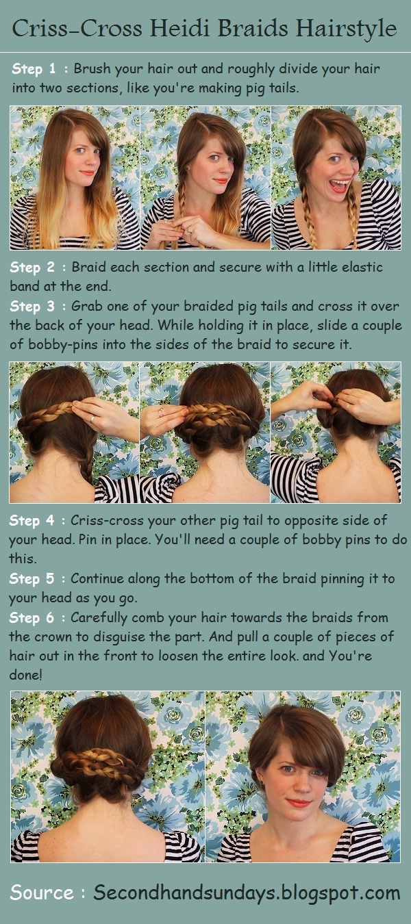 How To Make A Criss Cross Hair Part HAIRSTYLE GALLERY - 2 Braid Hairstyles