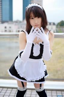 Himezaki Reika cosplay as Izumi Sawatari from Kore ga Watashi no Goshujin Sama