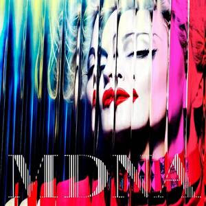 capa do cd MDNA