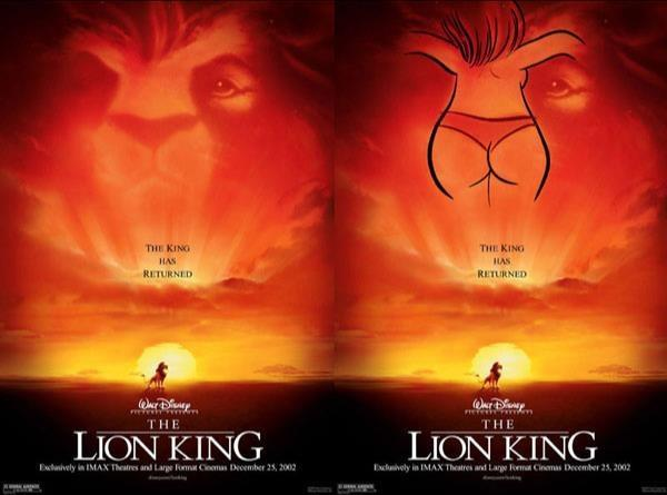 The Lion King (1994) Subliminal Message