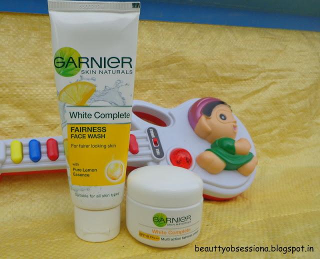 #7DayGarnierChallenge  - Garnier White Complete Fairness Facewash And Cream  (Review & Price) ~ Get Free Samples