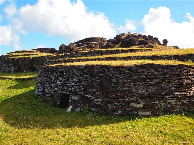 Aldea de Orongo - Isla de Pascua
