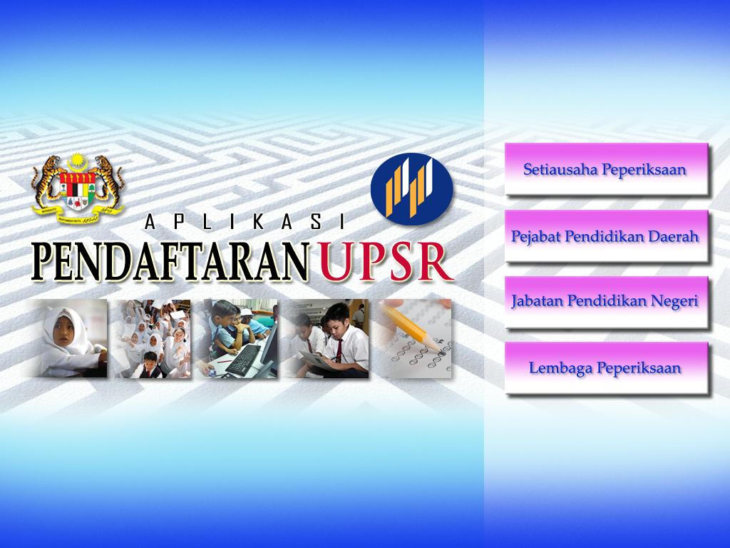 Pendaftaran Upsr Tahun 2014 Blog Cikgu Azman
