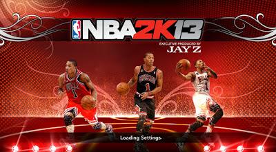 NBA 2K13 Derrick Rose Startup Screen Mod Patch