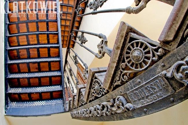 Radom: żeliwne schody z fabryki K.Bolesty