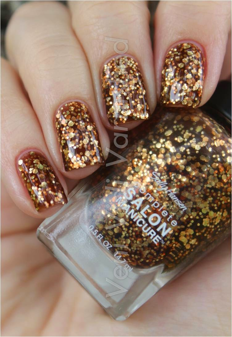 Sally Hansen Complete Salon Manicure New York Fashion Week NYFW 2014 Golden Rust