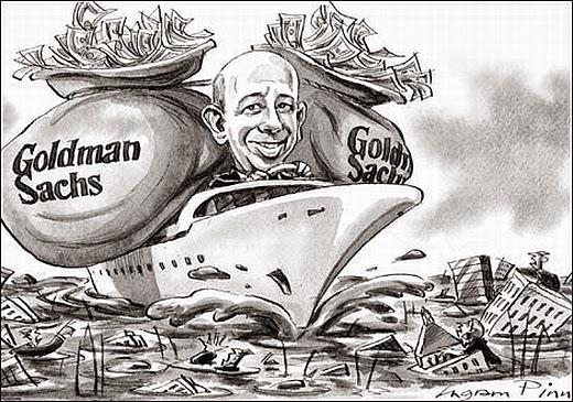 Goldman Sachs es uno de los ladrones de guante blanco más grandes del mundo.