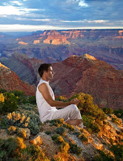 Meditation classes at the Grand Canyon