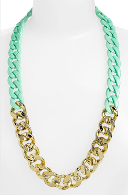 Fashion Find, Pastel Jewelry, Spring trend, Statement Necklace