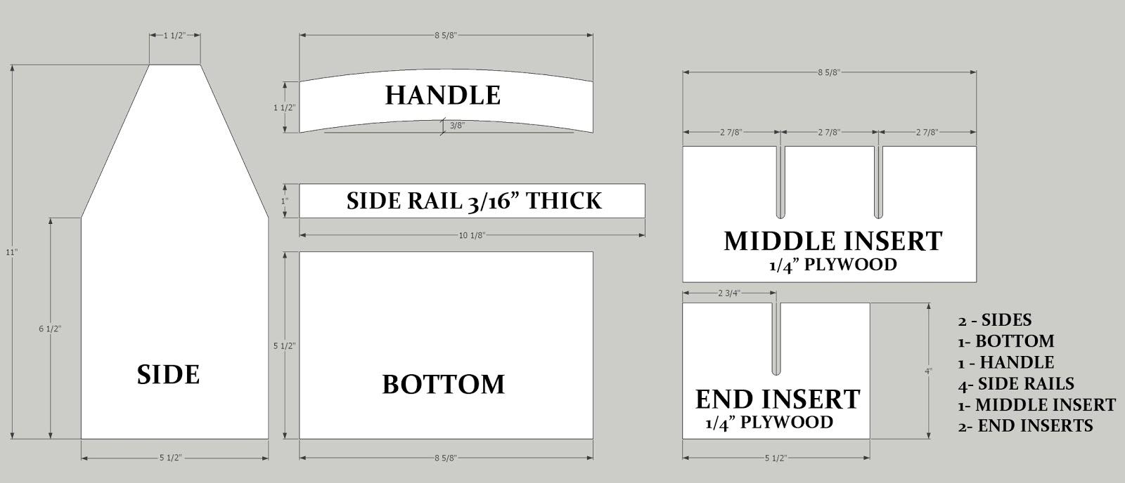 Joseph Lawrence Design Segment 1 Cutting The Caddy S Pieces
