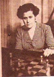 La ajedrecista catalana y campeona de Ajedrez de Cataluña Gloria Velat