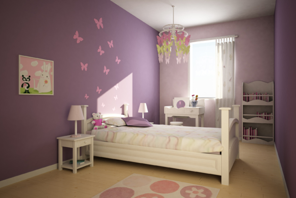 Design chambre fille etmseo - Decoration chambre de bebe fille ...