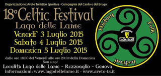 18° festival celtico lago delle lame