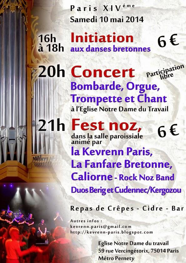 Caliorne Kevrenn Paris Fanfare Bretonne