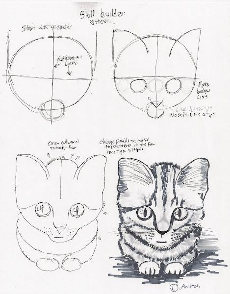 Cute Easy Animal Pencil Drawings