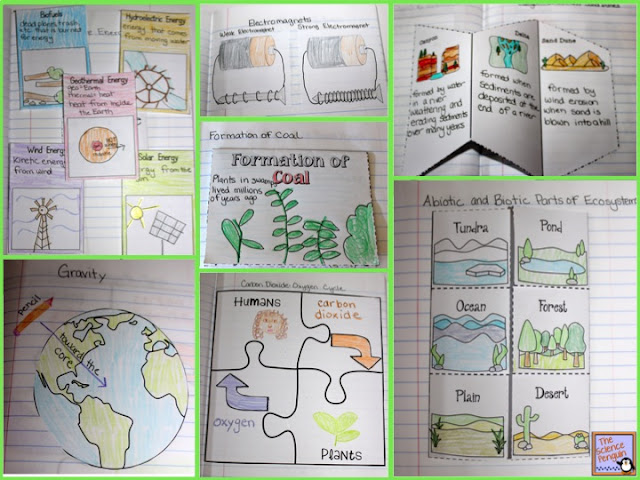 MORE Interactive Science Notebook Templates — The Science Penguin