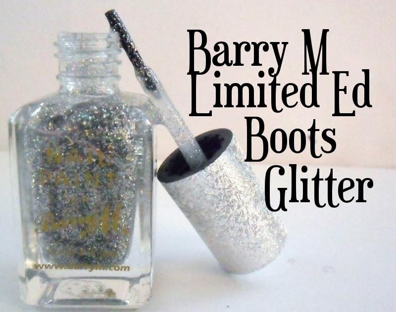 Barry M Boots Ltd Ed Glitter