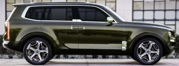 Saxton On Cars Kia Telluride Hybrid Suv Concept Looks Like A Real