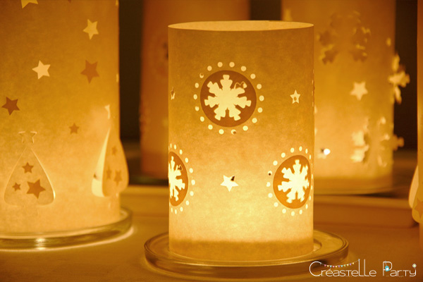 DIY  photophores de Noël / christmas luminaries