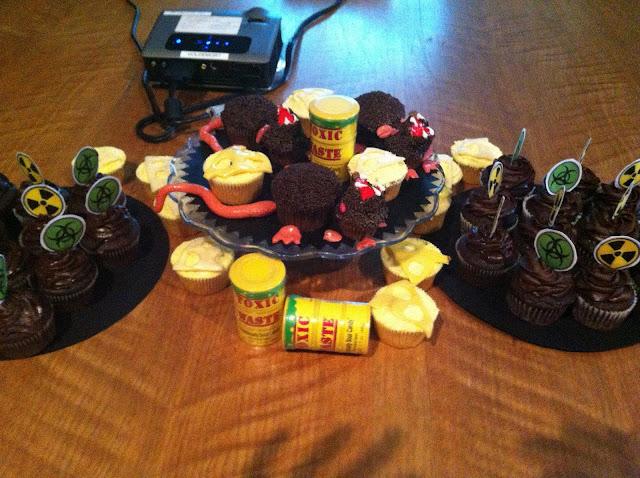 Lab Rat Cupcakes
