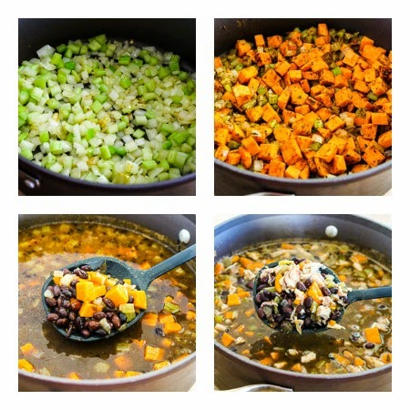 and Sweet Potato Soup Recipe with Black Beans and Lime (Gluten-Free ...