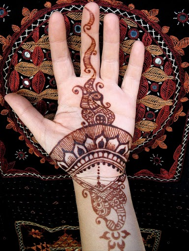 Mehndi Party Pictures : Party mehndi designs henna