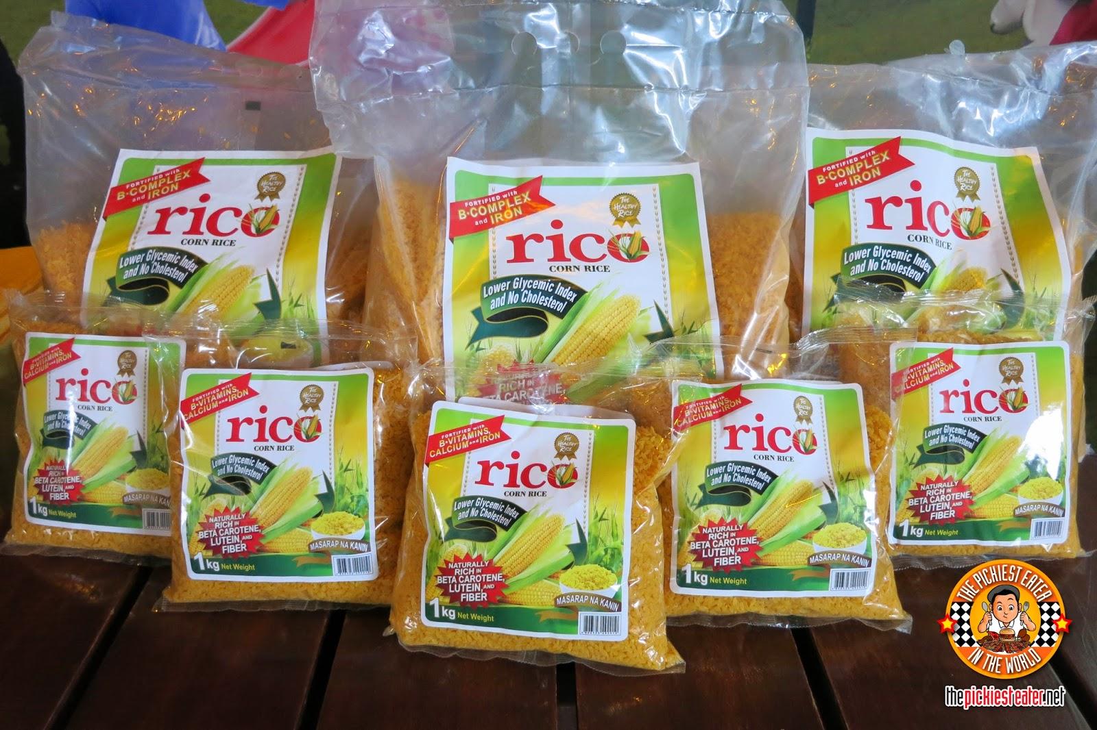 rico corn rice